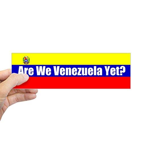 Republican Anti Stickers - CafePress are We Venezuela Yet? Bumper Sticker 10