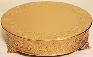 14 inch cake stand belmont 14 inch matte gold wedding cake 1020