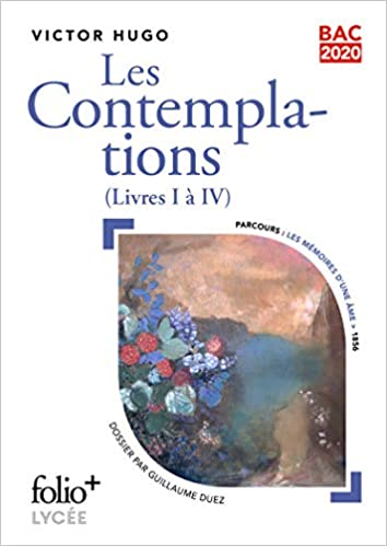Amazon Fr Bac 2020 Les Contemplations Livres I A Iv