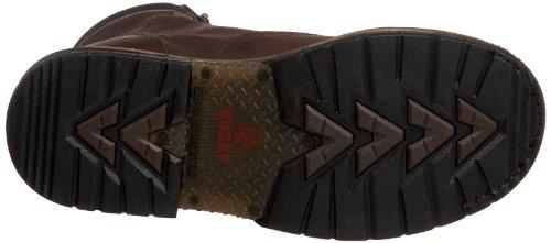 "Rocky Men's Iron Clad 8"" Waterproof Non-Steel Boot,Bridle,9.5 M US"