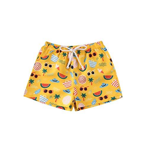 Carolilly Toddler Kids Boys Girls Summer Shorts Quick Dry Swim Trunks Beach Board Shorts