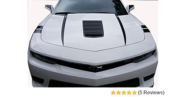 Amazon 2015 Camaro Hood Spears White Chevy Chevrolet Camaro