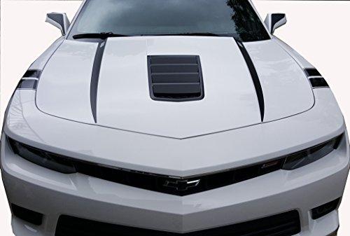 2015 Camaro Hood Spears Matte Black chevy chevrolet camaro accessories