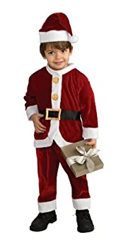 Child's Little Santa Costume, Toddler Rubies - Domestic 885980