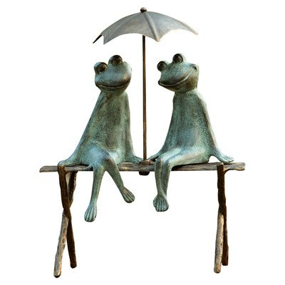 SPI Home 33317 Frog Lovers Garden