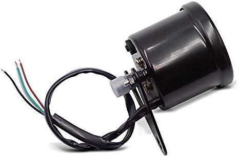 Digital Tachometer f/ür Honda Shadow VT 750//600 C TRX schwarz