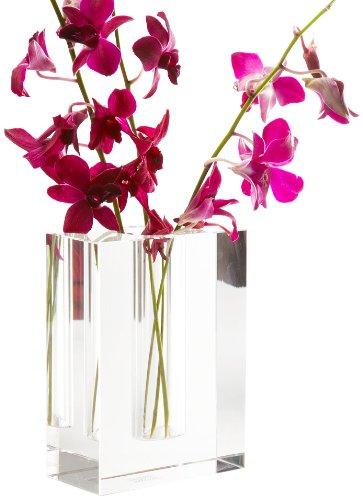 Amazon Twos Company Dixon Crystal Block Vase Home Kitchen