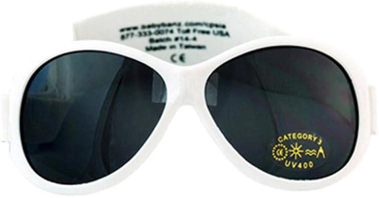 Kidz Banz Retro Sunglasses White