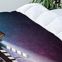 MIGAGA Bedding Juego de Funda de Edredón,Retro Película Proyector ...