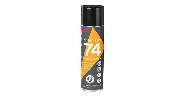 3M Spray Adhesivo 74 Rápido para Espuma, 500 ml, 1 unidad: Amazon.es: Industria, empresas y ciencia