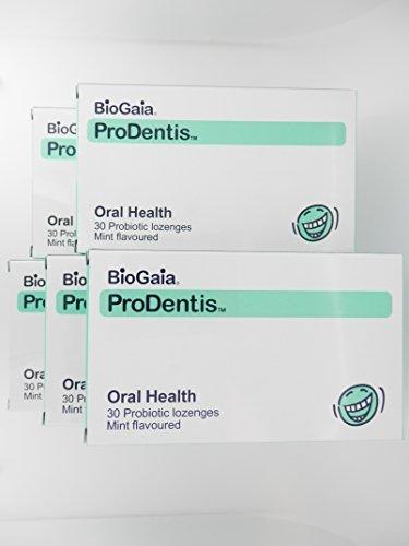 BioGaia Purodentisu live lactic acid bacteria (L reuteri bacteria) Mint 30 grains x5 pieces by BioGaia