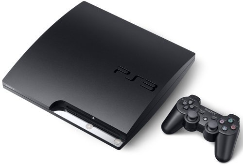 Sony PlayStation 3 Slim 120GB Gaming Console & Blu-ray Player w/DUALSHOCK 3 SIXAXIS Wireless Controller - 120 Gb Dvd Cd