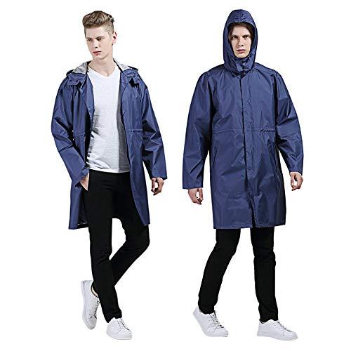 Sala-Tecco - Raincoat Women Rainwear Men Rain Coat Impermeable Waterproof Rain Cape Cover Hooded Raincoat Rainwear XL XXL