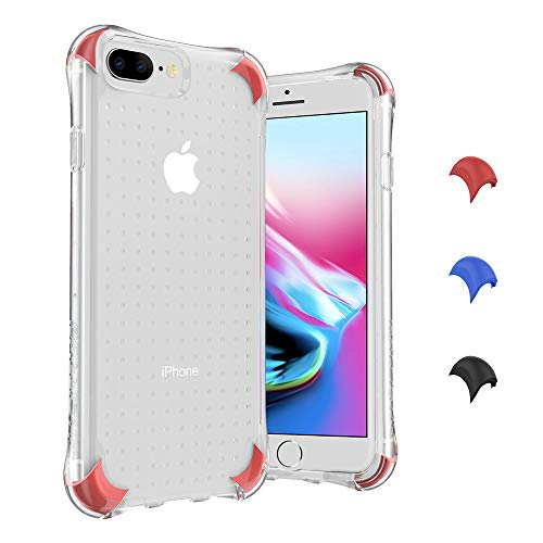 Ballistic iPhone 8 Plus Clear Case, Heavy Duty Shockproof Bumper Case for iPhone 8/7/6/6s Plus, 5.5 Clear