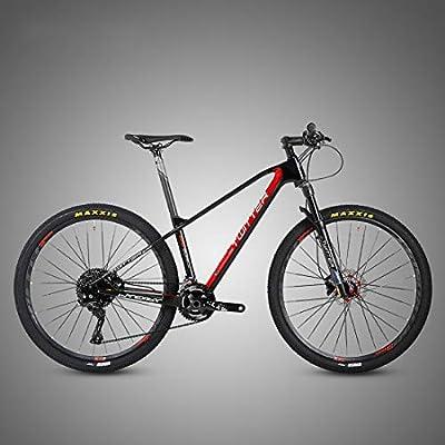 MICAKO Bicicleta Montaña 27.5/29, M8000-22/33 Velocidad, Doble ...