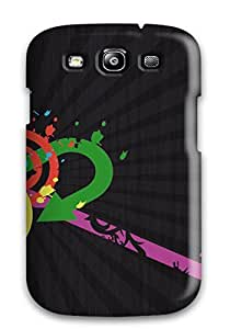 Premium Protection Retro Case Cover For Galaxy S3- Retail Packaging