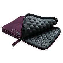 "GreatShield VIES [Travel Friendly | Shockproof] Neoprene Sleeve Case for 7 To 8-inch Tablets - Fits Kindle Paperwhite 6"", Apple iPad Mini, Galaxy Tab 7, Nexus 7, LG, Asus Tablet - Purple"
