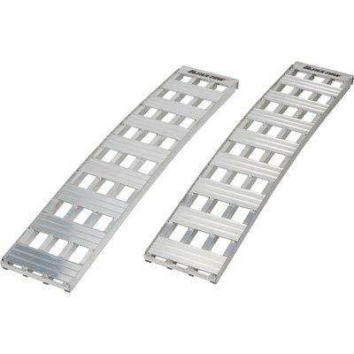 Ultra-Tow Heavy-Duty Arched Aluminum Loading Ramp Set - 5000-Lb. Capacity, 5Ft. L