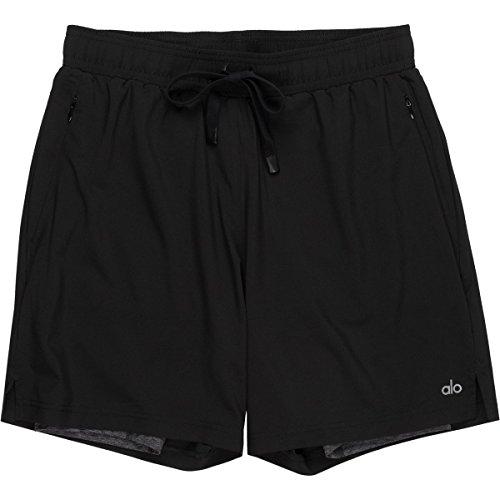 Alo Mens Short - Alo Yoga Unity 2-in-1 Short - Men's Black, S