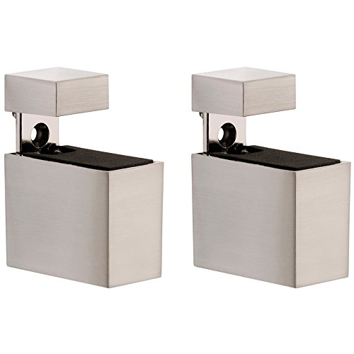 UPC 873214005136, Adjustable Shelf Brackets Metal Rectangles Stainless Steel