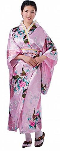 PGS Japanese women traditional ethnic costumes KIMONO
