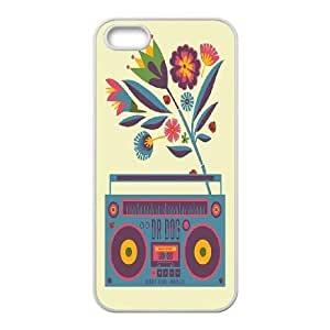 Custom Boombox Iphone 5,5S Cover Case, Boombox Customized Phone Case for iPhone 5,iPhone 5s at Lzzcase WANGJING JINDA