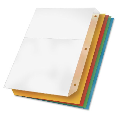 TOPS Cardinal Poly Ring Binder Pockets, No Tabs, Double Pock
