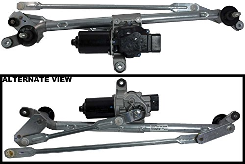 (APDTY 22711011 & 22711010 Windshield Wiper Transmission Linkage & Motor Assembly For 2008-2012 Chevy Malibu / 2005-2010 Pontiac G6 / 2007-2009 Saturn Aura (Includes Wiper Intermittent Control))
