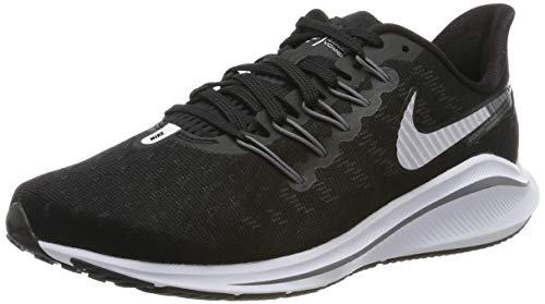 Nike Women's Air Zoom Vomero 14 Running Shoe Black/White/Thunder Grey Size 8 W US