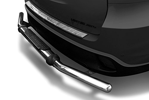 Kasei 110318SS-1 Stainless Steel Rear Bumper Guard – Single Tube With Pad