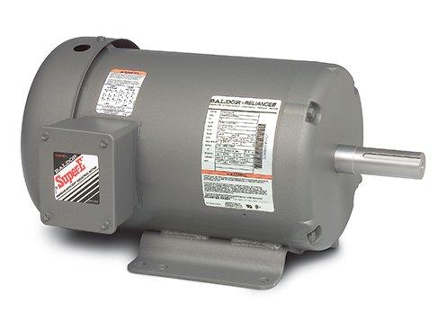 Baldor Electric Company EHM3710T - Blower/Fan Motor - 3 ph, 7-1/2 hp, 1800 rpm, 208-230/460 V, 213T Frame, TEFC Enclosure, 60 Hz