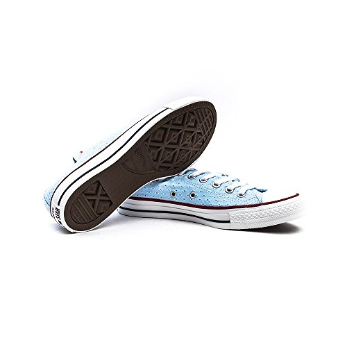 Converse All Star Ox Perfed Canvas Summer Fountain Blue
