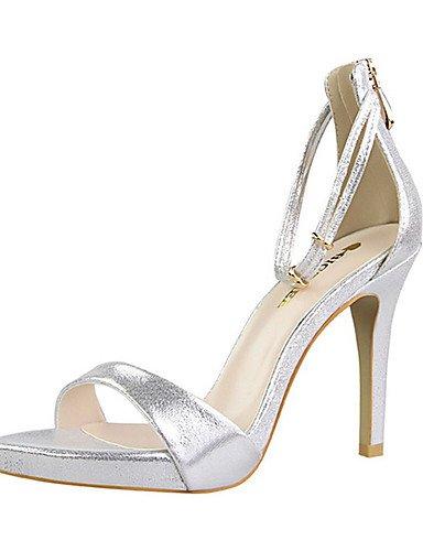 GGX/ Damenschuhe-High Heels-Lässig-PU-Stöckelabsatz-Absätze-Schwarz / Rosa / Rot / Silber / Gold black-us5 / eu35 / uk3 / cn34