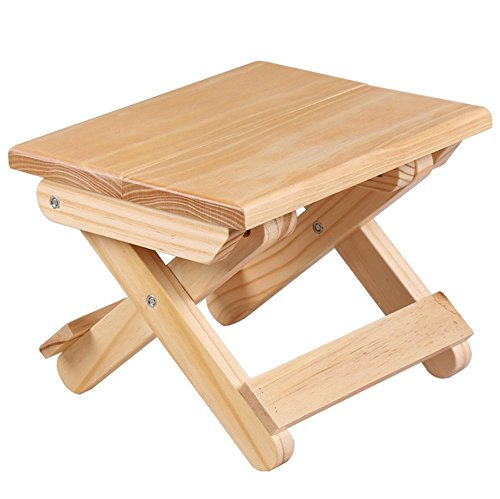 (DODXIAOBEUL Children's Solid Wood Folding Step Stool 7