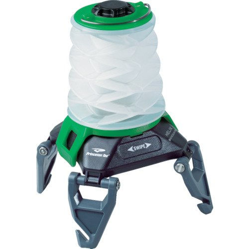 Princeton Tec Helix Backcountry Rechargeable Lantern (150 Lumens, - Light Green Helix