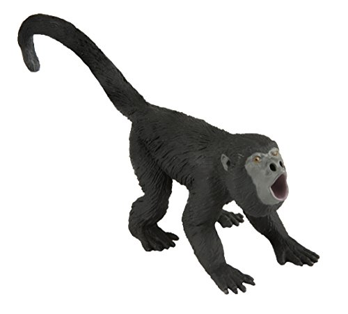 Safari Ltd. Howler Monkey XL Realistic Hand Painted Toy Figurine Model Quality Construction from Phthalate, Lead and BPA Free Materials for Ages 3 and - Monkey Painted