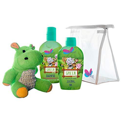 Dlk Kit Kids Safari Hyppo Green Colônia + Shampoo, Delikad Importação Exportação E Comércio Ltda