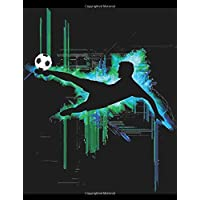 Journal: Cool Boy's Soccer Player's Notebook