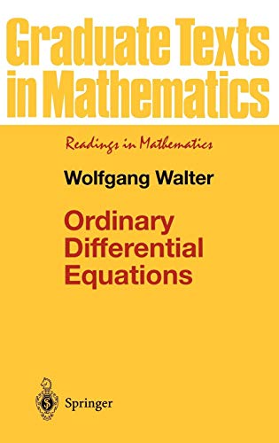 Ordinary Differential Equations (Graduate Texts in...
