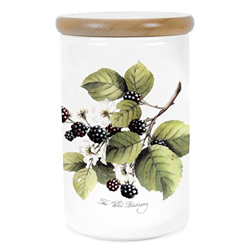 (Portmeirion Pomona Earthenware 52-Ounce Canister)