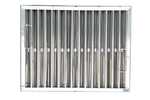 Flame Gard TYPE II Stainless Steel Grease Filter - 15-1/2'' x 19-1/2'' x 1-7/8''