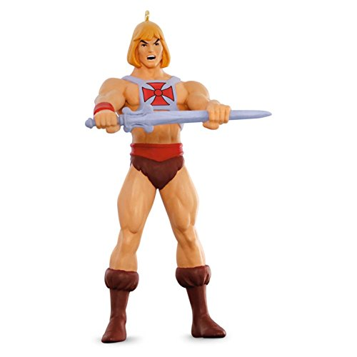 Hallmark 2016 Christmas Ornament Master of the Universe He-Man - Priority Canada Tracking Mail