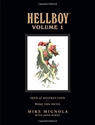 Hellboy Library Edition Volume 1: Seed of Destruction and Wake the Devil: Seed of Destruction and Wake the Devil v. 1 (Hellboy (Dark Horse Library)) by Mignola, Mike, Byrne, John ( 2008 )