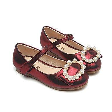 Wuyulunbi@ Zapatos De Niñas De Microfibra Sintético Pu Primavera Otoño Comfort Novedad Flor Chica Zapatos