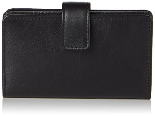 Picard Herren Eurojet Ausweis-& Kartenhüllen, 7x11x1 cm Schwarz (Schwarz)