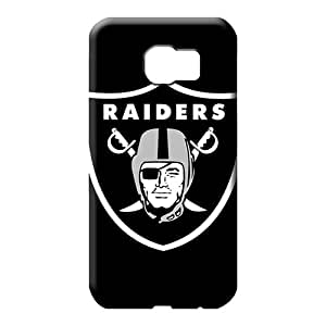 samsung galaxy s6 edge Abstact Fashion Hot Style cell phone carrying shells oakland raiders