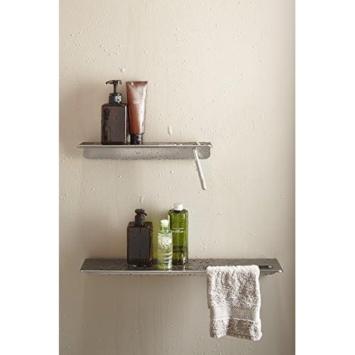 """good KOHLER K-97623-BNK Choreograph 21"""" Floating Shower Shelf, Anodized Brushed Nickel"""