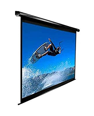 Elite Screens Electric Drop Down Projection Screen