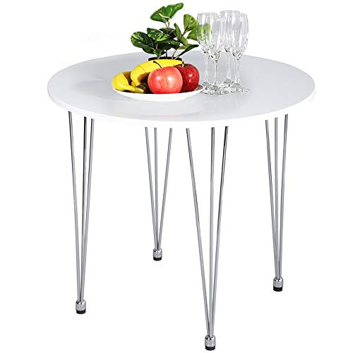 Amazoncom Greenforest Round Dining Table Small Kitchen Table