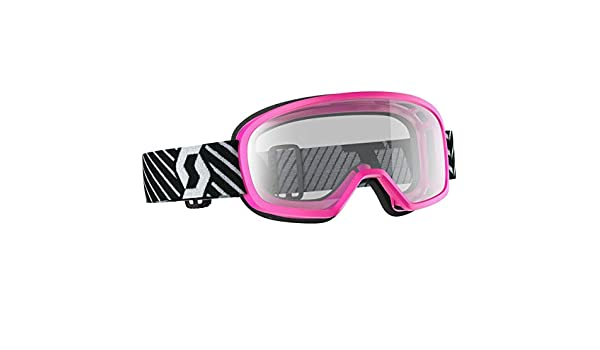 Scott Buzz Pro Youth WFS MX Offroad Goggles Pink//Yellow